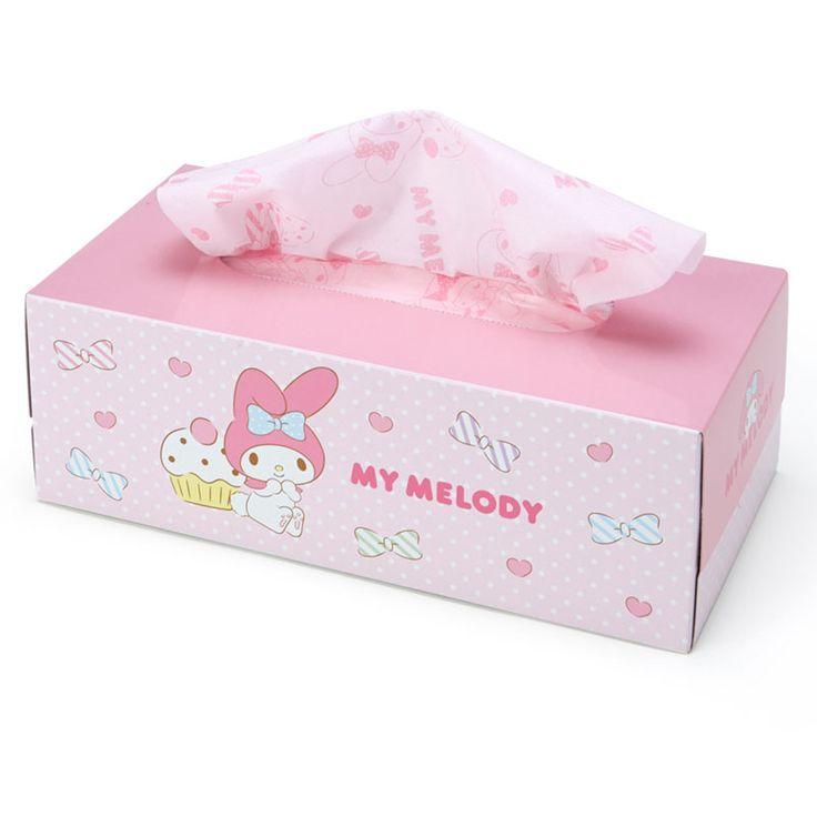 #MyMelody facial tissue (●´ω`●) サンリオオンラインショップ / マイメロディ ティシュペーパー 10箱セット