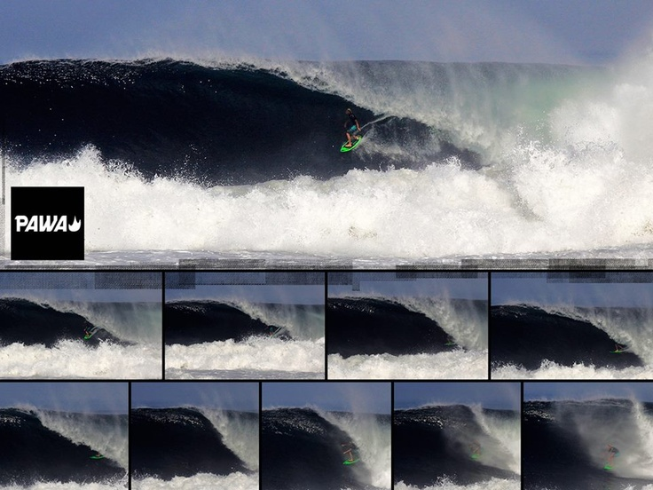 Sequence of the Week... Conley gets shacked in one of the first solid south swells.. #pawasurf #brianconley #surfing #bigwave #surf #waves #surf #sequence