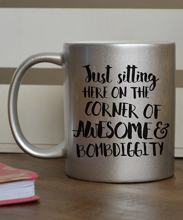 Coffee Mugs Look At This Silver Glitter Corner Of