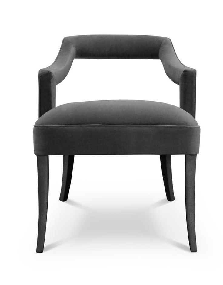 OKA | DINING CHAIR - Contemporary Mid-Century / Modern Transitional Dining Chairs - Dering Hall
