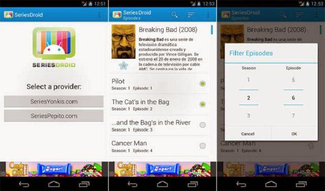 SeriesDroid N: aplicación para ver series de TV gratis desde mi smartphone (Android) http://www.redestrategia.com/seriesdroid-n-aplicacion-para-ver-series-de-tv-gratis-desde-mi-smartphone-android.html