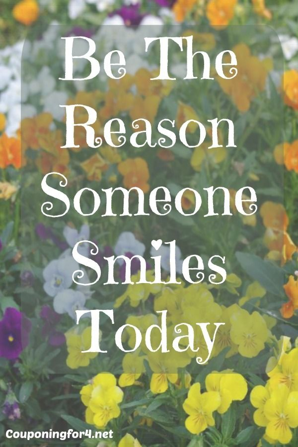 Empowerment Is Free: Be The Reason Someone Smiles Today - We all need a little bit of extra positivity right now, so what can you do to brighten someone's day today?