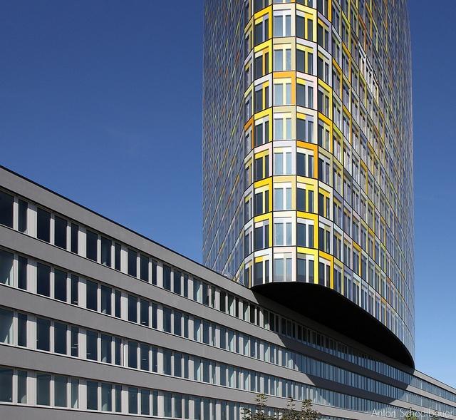 ADAC-Zentrale, München by Anton Schedlbauer, via Flickr