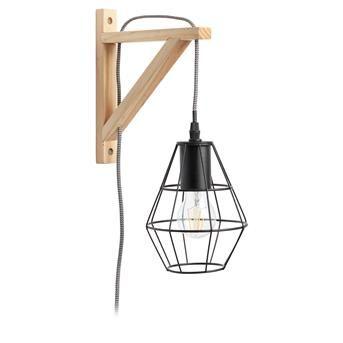 WANDLAMP HYBRIS #kwantum #najaar #nieuw #hanglamp #verlichting #hout #KwantumNajaar