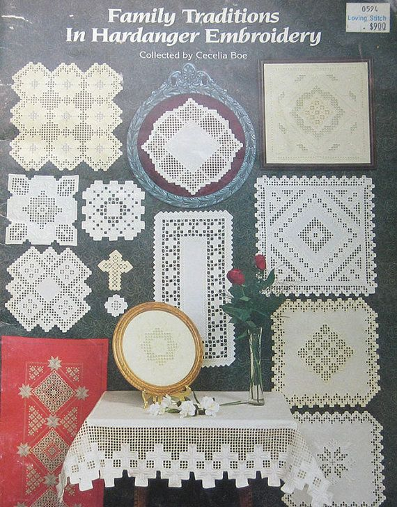 Family Traditions In Hardanger Embroidery Pattern by TheHowlingHag, $9.95