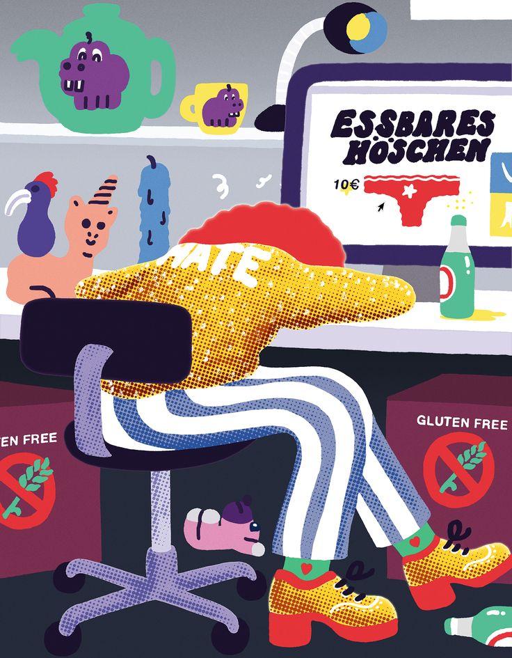 Drunken Online Shopping by Sac Magique | Agent Pekka
