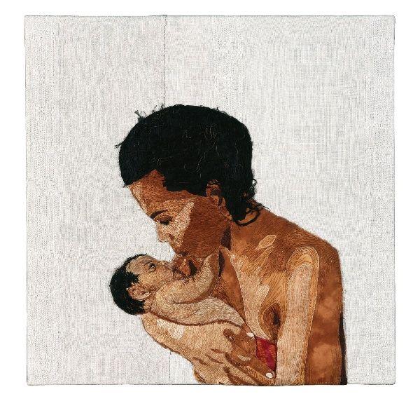 В своих работах текстильный художник Аран Иллингуорт (Aran Illingworth) изображает женщин и их социальный статус. Все чаще на ее полотнах встречаются индийские бедняки XXI века