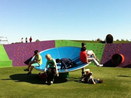 Blaxland Riverside Park at Sydney Olympic Park. Great for bigger kids  Found at http://familyfunsydney.blogspot.com.au