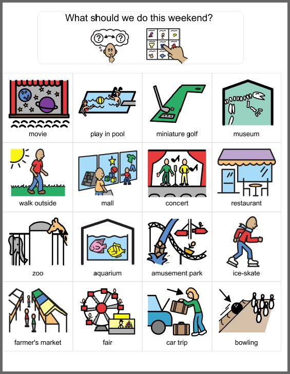 Living Well With Autism - Play Skills and Leisure Activities these are amazing