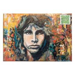 "KUNST ALS POSTKARTE ""Jim Morrison"""