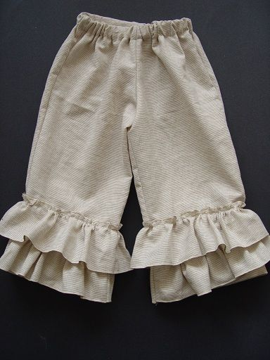 http://sewingdork.blogspot.com/2011/01/how-to-make-ruffle-leg-pants-and.html