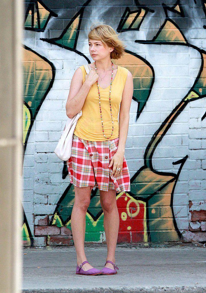 Фотографии Мишель Уильямс на съемочной площадке | POPSUGAR знаменитости