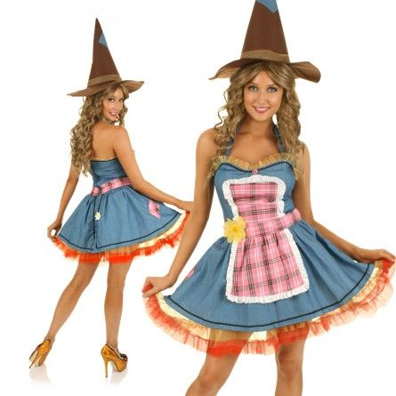 Womens Scarecrow Costume