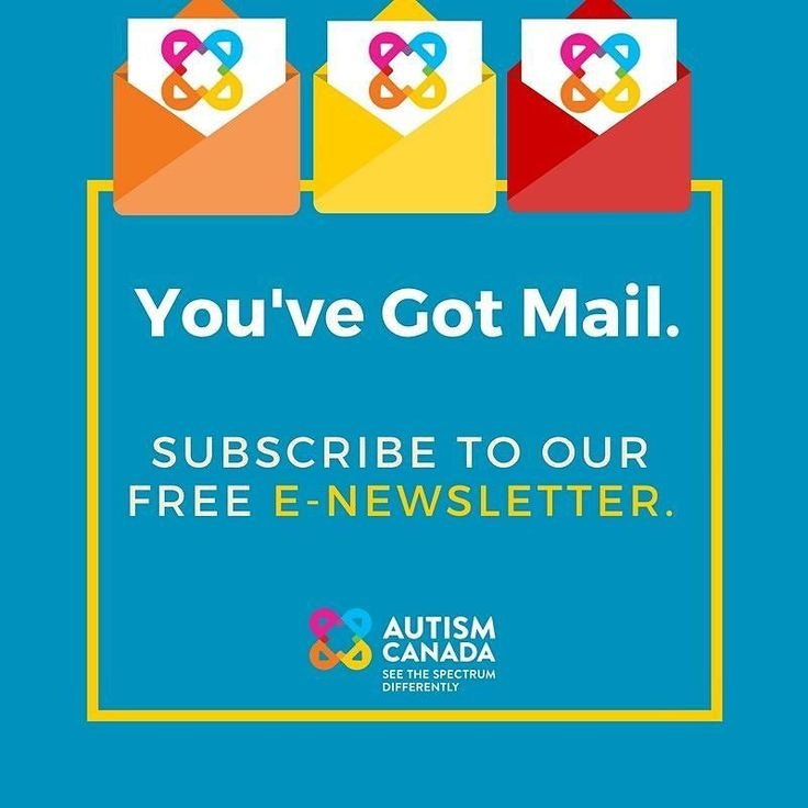 We are proud to share our free informative e-newsletter with 4000 subscribers on a weekly basis. Subscribe today at autismcanada.org.