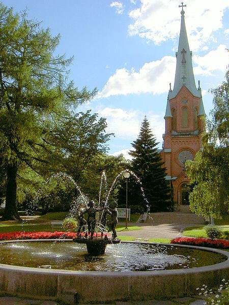 Alexander Church in Tampere, Finland - Aleksanterin kirkko - Photo: M62 / Wikimedia commons