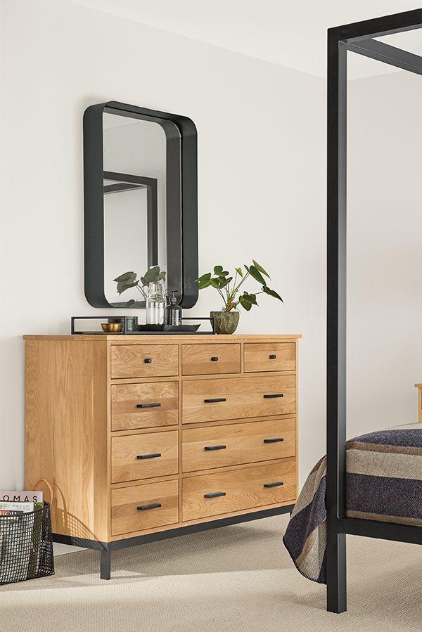 Linear Wood Dressers Modern Dressers Modern Bedroom Furniture