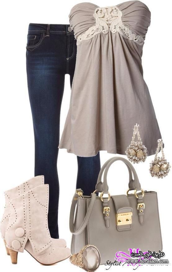 Summer Outfits For Women, except for the boots....would wear my cowboy boots instead!!!!