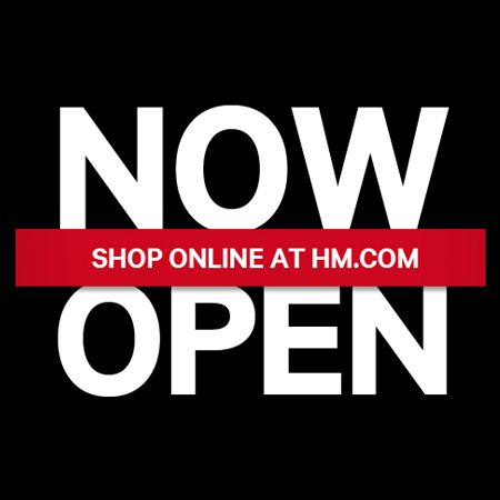 Its officially open! #phoebycerise #shopping #hm