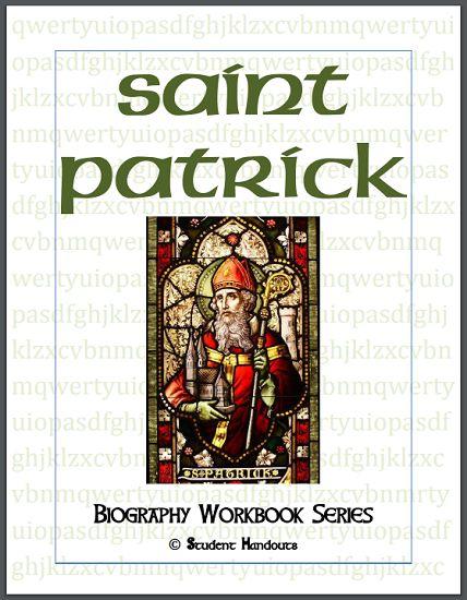 Saint Patrick Biography Workbook - Free to print (PDF file).