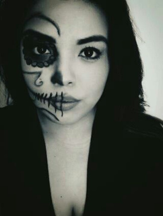 69 best Day of the dead/ Halloween Make up ♥ images on Pinterest ...