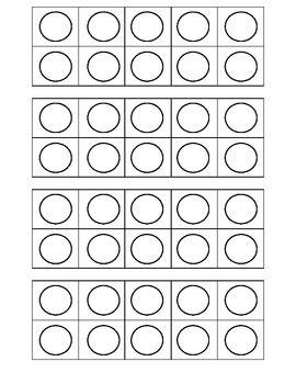 Free Printable Ten Frames - Melissa Elliott - TeachersPayTeachers.com