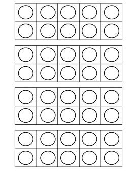 1000 images about numicon on pinterest money problems for 10 frame template printable