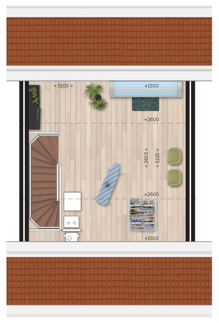 2,5D - Tweede verdieping