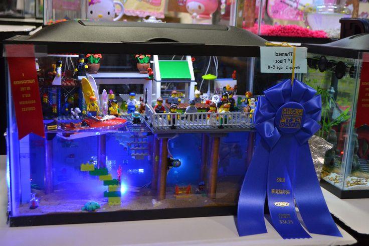 Best Aquarium Decoration Ideas For Kid ~ http://www.lookmyhomes.com/creative-aquarium-decoration-ideas/