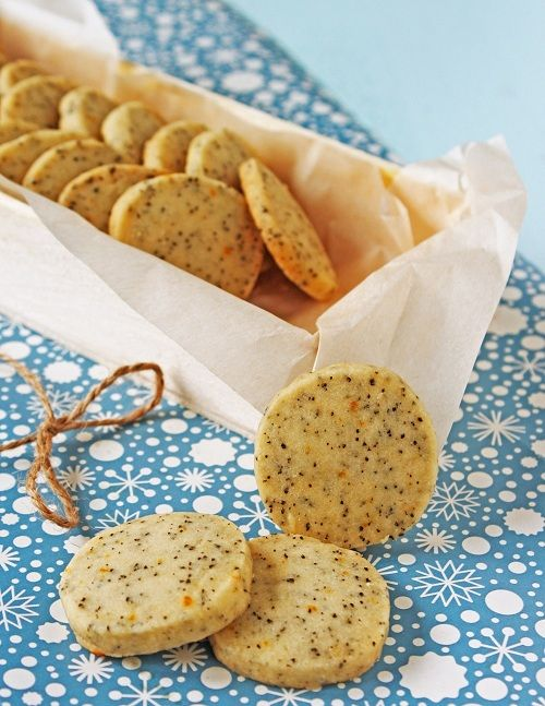 Earl Grey Tea Cookies -- I make the best Earl Grey Shortbread at the tea room!