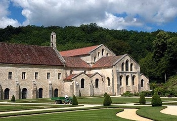Cistercian Abbey of Fontenay - Côte d'Or, Burgundy, France
