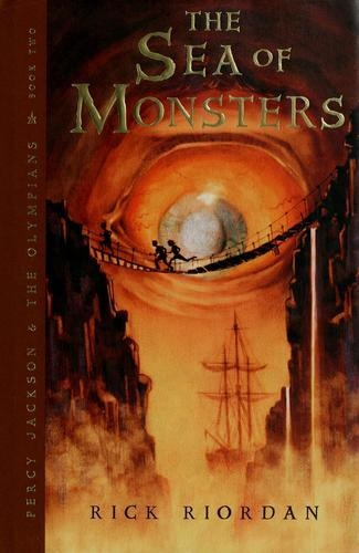 The Sea of Monsters by Rick Riordan, BookLikes.com #books