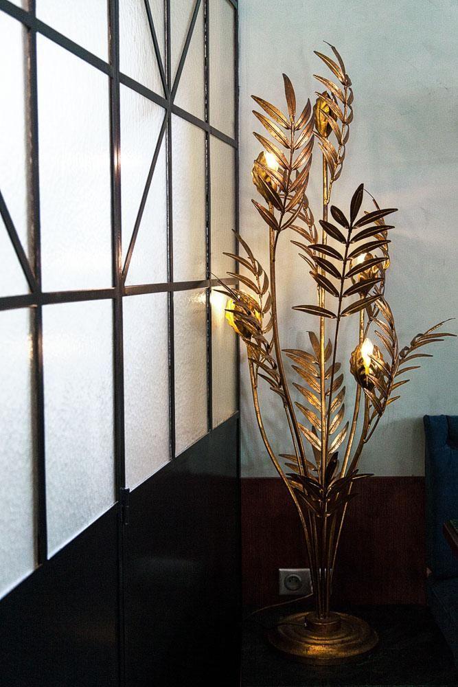 Fleurs Jansen Dorées Art Déco Adresse Pigalle Maison Lautrec