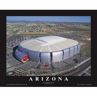 ''Arizona Cardinals Phoenix University Stadium Glendale Az'' by Mike Smith Stadiums Art Print