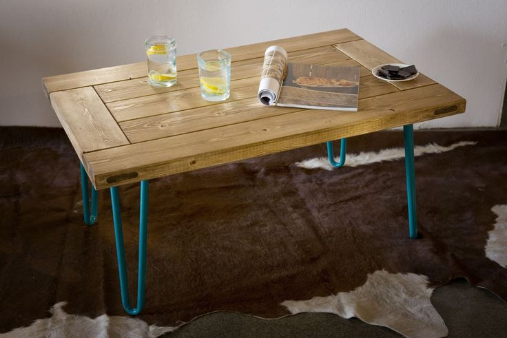 GIE El Turquoise Hairpin Leg Coffee Table - Design Shop