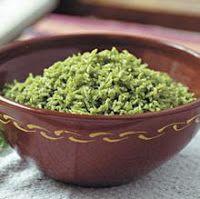 Comida Típica Colombiana: Arroz verde