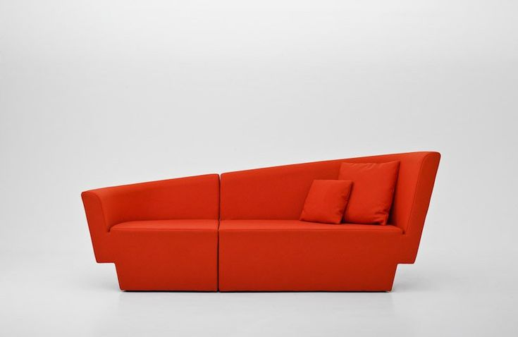 #Sofa + #loveseat + #chair in one asymmetric Chopin sofa by Tomek Rygalik for Comforty http://po.st/c4riLM