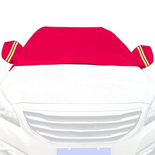 Car Snow Cover Snow Cover for Cars, SUV Snow Protectors Automotive Windshield Snow Covers Rosyred