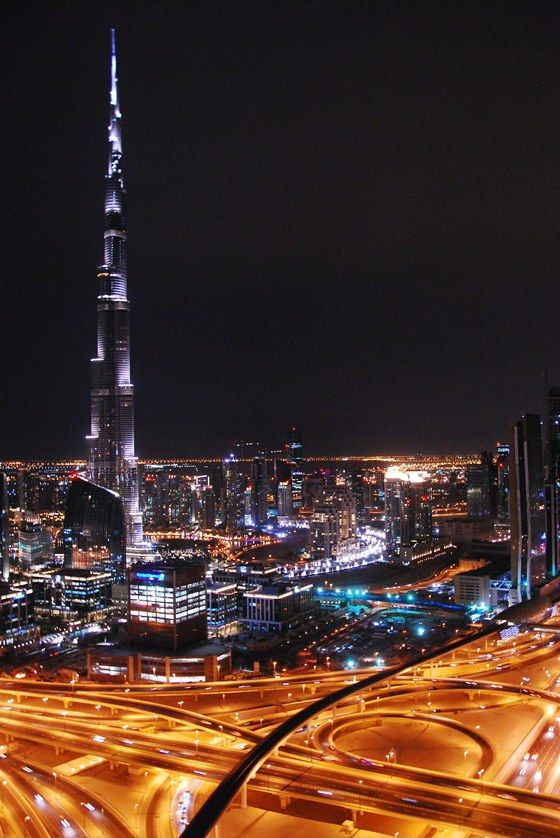 The Tallest Building In The World (for now) – Burj Khalifa in Dubai