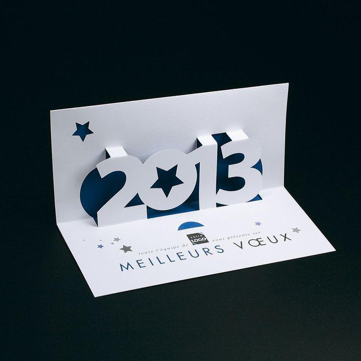 Cartes de voeux entreprise - Pop-up 2013