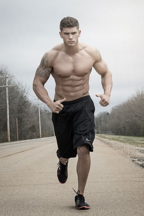 Runing!! #Sexy #Male #Model