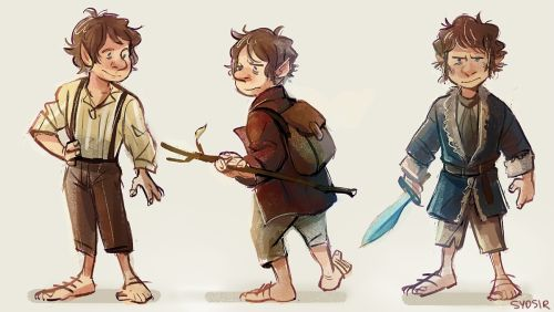 day 6 bilbo swaggins Because all i've been listening to is lotr soundtrack and there are hobbit posters around our house and anneliese has a dumb lego bilbo on her keychain I see everyday