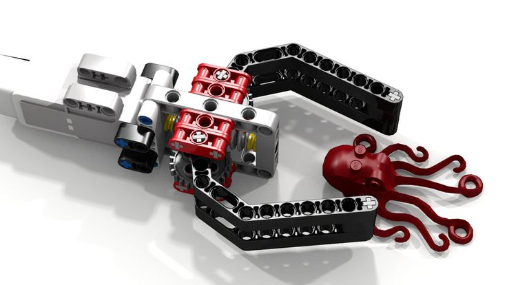 Most simple lego ev robot claw w octopus