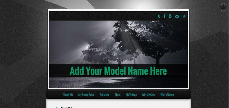 Adela MyFreeCams profile design