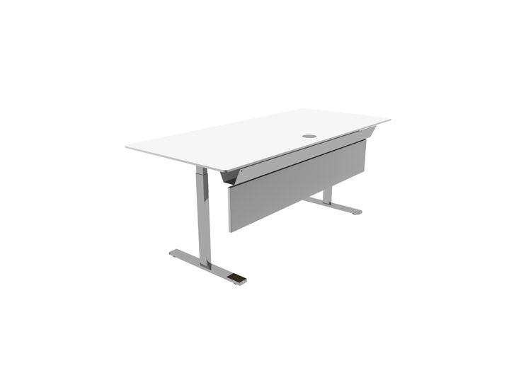 skåp ikea ps ~ dencon arbeidsbord med frontpanel  bord  arbeid  pinterest