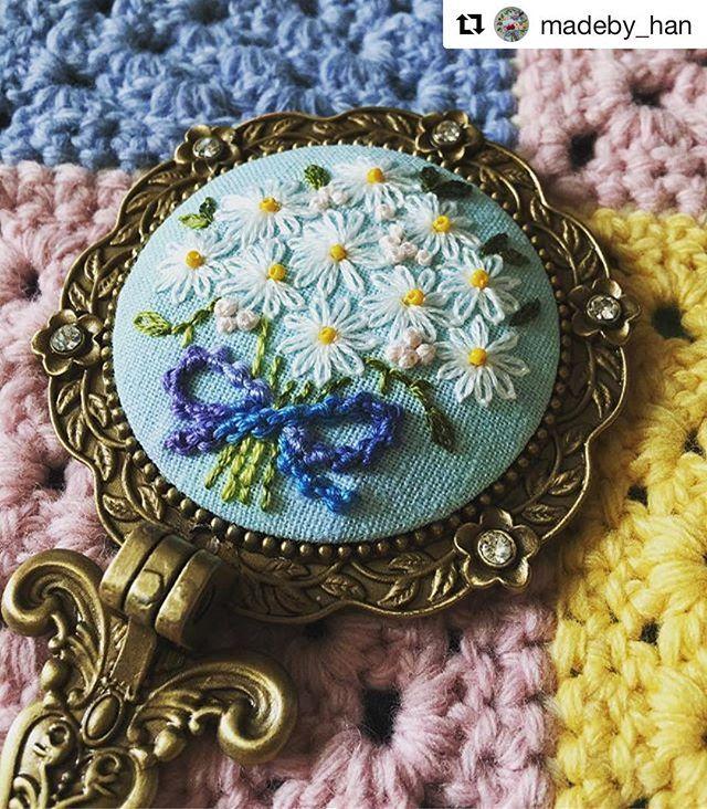 @madeby_han #needlework #handembroidery #broderie #ricamo #embroidery #bordado
