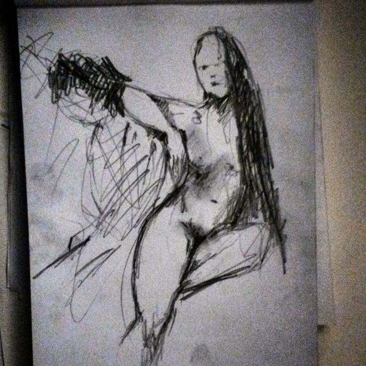Life drawing by Kiira Sirola ©