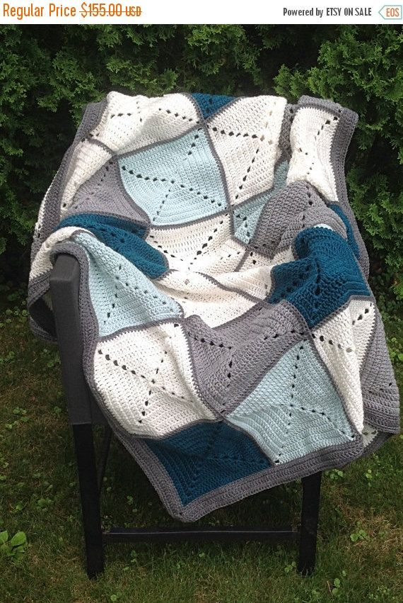 Hey, I found this really awesome Etsy listing at https://www.etsy.com/listing/237752849/grey-and-teal-basic-granny-square