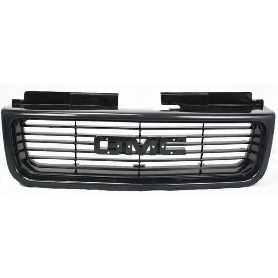 Front Grille For 1998 2005 Gmc Jimmy Sonoma Textured Black Sl Sls Model Gm1200436 12472678 In 2020 Model Black Texture