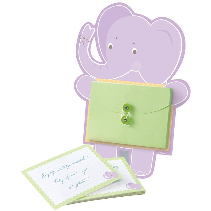 Wilton 1004-1426 Elephant Baby Advice Card Activity Kit *** Check out the image by visiting the link.