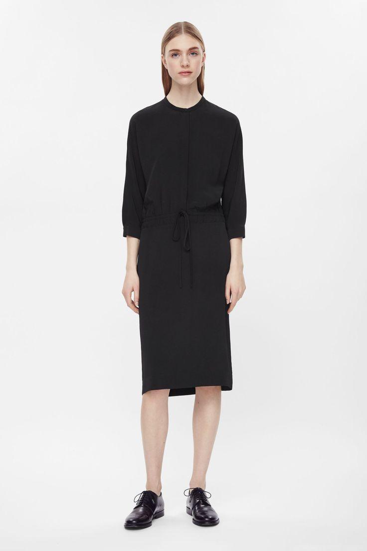 COS Drawstring waist shirt dress